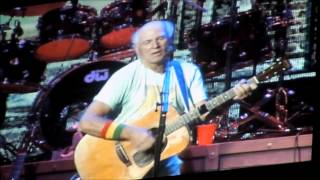 Jimmy Buffett 2014 No Woman, No Cry/It's Been A Lovely Cruise medley