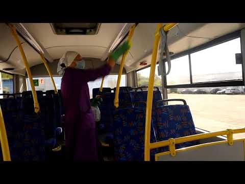 Как автопарк бережет кричевлян от заражения COVID 19