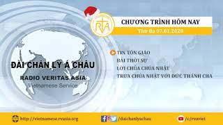 CHƯƠNG TRÌNH PHÁT THANH, THỨ BA 07012020