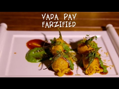 Food Recipe: Vada Pav Farzified From The Farzi Cafe Kitchen