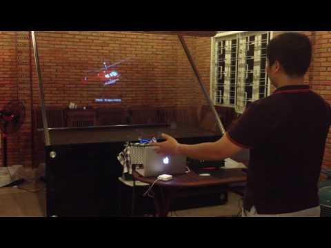Interactive Hologram Projection Display - WRP - смотреть