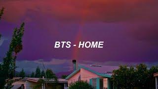 BTS (방탄소년단) 'Home' Easy Lyrics