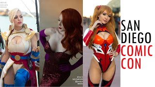 COMIC CON SDCC 2019 SAN DIEGO BEST COSPLAY MUSIC VIDEO COSTUMES Video