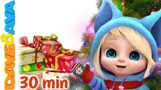 🎄We Wish you a Merry Christmas + More Christmas Songs for Kids | Dave and Ava 🎄