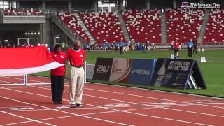 Singapore Athletics pays tribute to Lee Kuan Yew