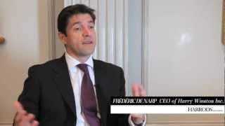 An Interview With Frédéric De Narp, CEO Of Harry Winston Inc. | Harrods Magazine, December 2012