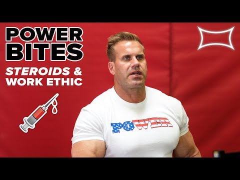 4X Mr. Olympia Jay Cutler Talks Steroids and Work Ethic | Power Bites