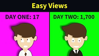 How to Get More Views on YouTube in 2021 - in 2 Minutes