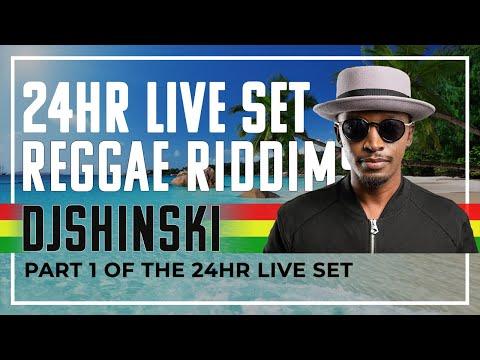 Reggae Riddims Mix🇯🇲🇯🇲!!! – Dj Shinski 24 Hour Live Set Part 1