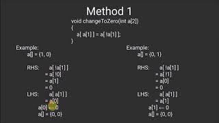A boolean array puzzle | Bit Algorithms | GeeksforGeeks
