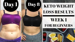 KETO WEIGHT LOSS → WEEK 1 MEAL PLAN & WEIGH IN