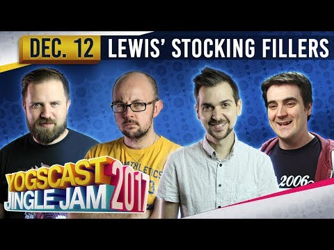 LEWIS' STOCKING FILLERS - Humble Bundle Games! - YOGSCAST JINGLE JAM - 12th December 2017
