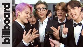 BTS Ucapkan Terima Kasih Kepada Fans di 'Grammy Awards 2019'