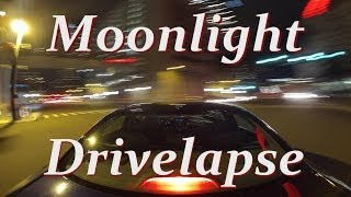 GoPro Hero3 Moonlight DriveLapse