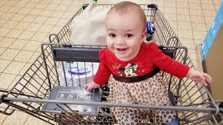 Funny Baby's Shopping Time! 🤣 | Cute Baby Funny Moments