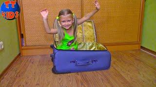 Ярослава и Кукла Беби Бон собирают вещи в путешествие - Веселое Видео для детей | Baby Born Doll