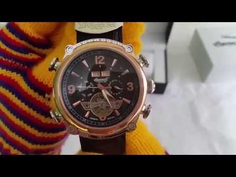 Reloj automatico Ingersoll funcionamiento