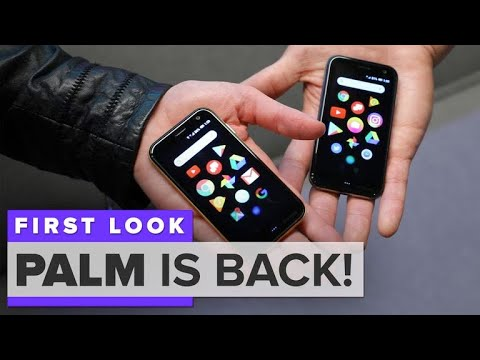 Palm is back with what looks like the tiniest iPhone ever