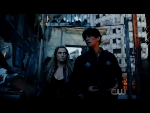 """Bellarke: """"The youth have inherited the earth"""" + """"Okay Princess, what now?"""" (The 100: 04x01) GAME ON"""