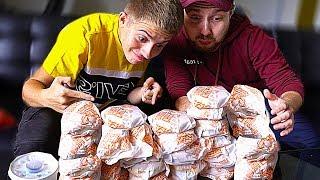 CHEESE CHALLENGE ! (qui Mangera Le Plus De Cheeseburger Mcdo ?)