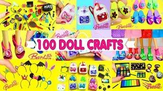 100 DIY Miniature Barbie Dollhouse Accessories  & Lifehacks #3  - Simplekidscrafts