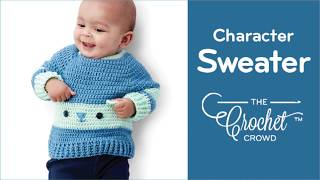 Crochet Baby Bear Sweater Pattern