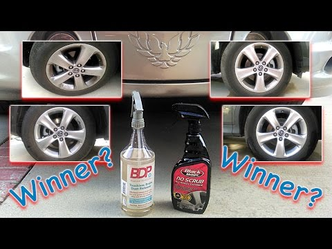 Auto Corner…BDP (Brake Dust Pro) vs Black Magic Wheel Cleaner – Extremely Dirty Wheels Test