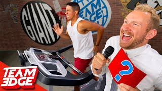 Last to Survive the Treadmill Wins!