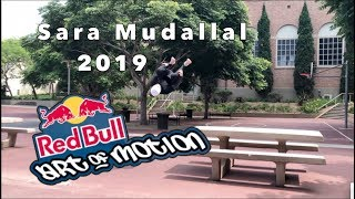 Sara Mudallal Red Bull Art of Motion Submission 2019