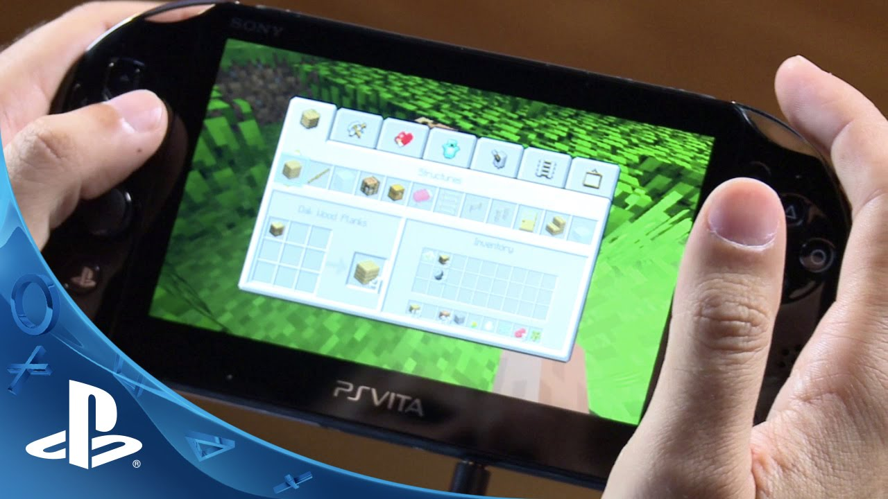Minecraft PS Vita Edition Out Now, Hands-on Video