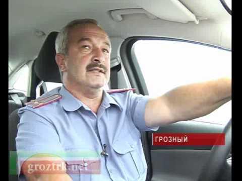 День работников ГИБДД в Грозном - видео-репортаж