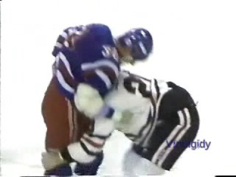 Al Secord vs. Chris Nilan