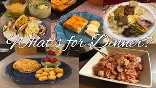 What's for Dinner?| Family Meal Ideas| November 19-25, 2018