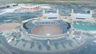 Beijing 2008 in Google Earth 3D