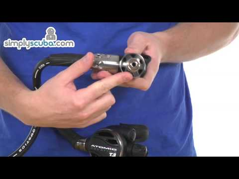 Atomic T3 Regulator – www.simplyscuba.com
