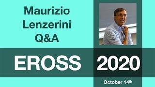 Maurizio Lenzerini: Q&A Session