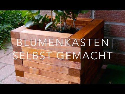 Holzblumenkasten Marke Eigenbau - Echte Unikate für Balkon und Garten