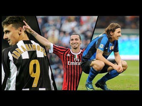 I Gol più belli di Ibrahimovic in Serie A