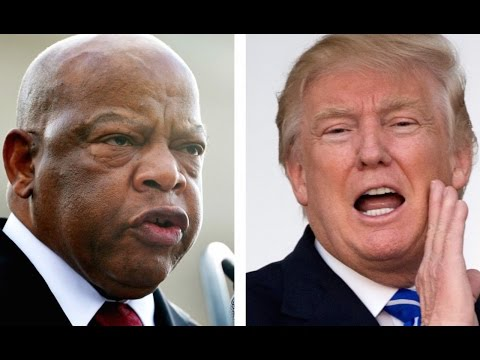 Why Trump Assumes John Lewis's District Is