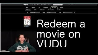 How to redeem a digital movie code on Vudu