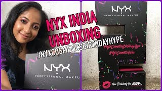 NYX COSMETICS INDIA 2nd BIRTHDAY PR UNBOXING   New Launches   Stacey Castanha