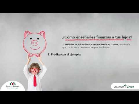 ¿Cómo enseñarles finanzas a tus hijos? - Miembro de la Alianza por la Educación Financiera de la SSF.