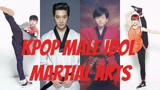 SEVENTEEN X PRODUCE 101 X NCT X BTS & OTHERS - KPOP MALE IDOL MARTIAL ARTS