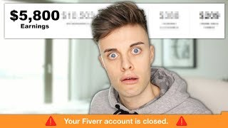 I Worked on FIVERR for a Week!! (I got BANNED)