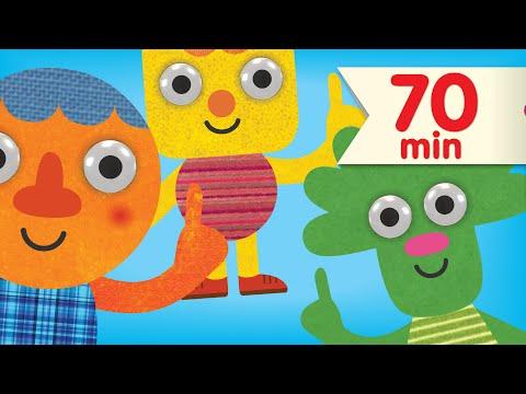 One Little Finger + More | Nursery Rhymes | Super Simple Songs