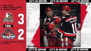 IceHogs vs. Griffins | Apr. 28, 2021