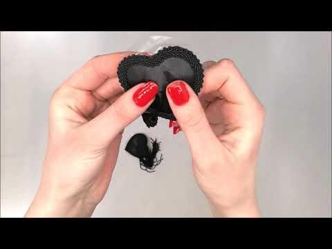 Lepítka Heart nipple covers model 1 - LivCo Corsetti
