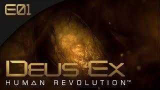 Deus Ex: Human Revolution [BLIND] - E01 - Cliffhanger (Gameplay Walkthrough)