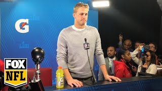 Jared Goff is going to use the Super Bowl LIII loss as a learning experience | FOX NFL