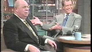 David Letterman With Don Rickles   Early 1994!!